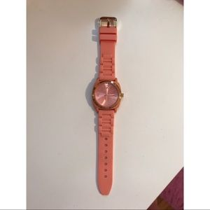 Anthropologie silicone watch
